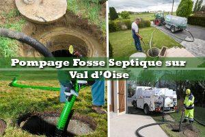 pompage fosse septique 95 Val d'Oise